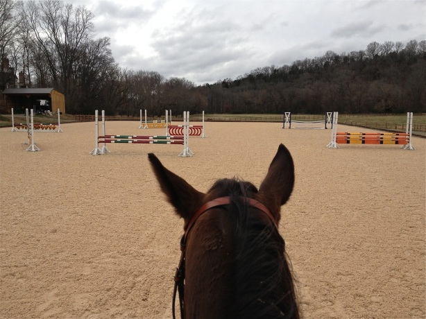 Looking at the course I jumped yesterday