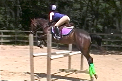 The first 3-foot-tall oxer I ever jumped!