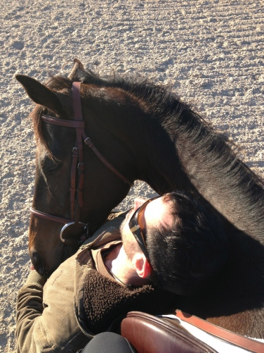 Daddy and I took a quick nap in the sunshine. I love him so much!
