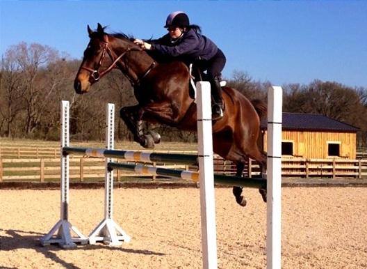 Woo hoo!! Jumping 4'3!